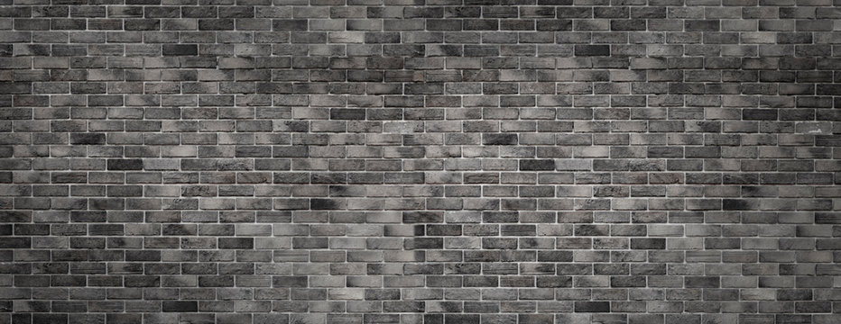 gray texture with brick wall for background website or brickwork for design