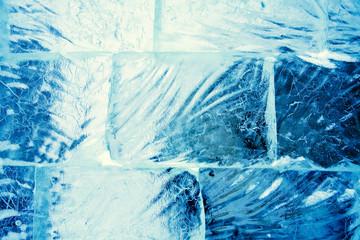 Ice Wall Closeup