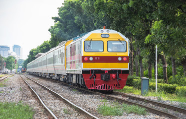 State Railway of Thailand New passenger car series special train