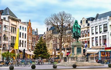 Statue of Johan de Witt in the Hague, the Netherlands