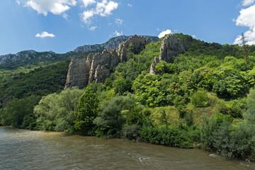 Ritlite - rock formations at Iskar River Gorge, Balkan Mountains, Bulgaria