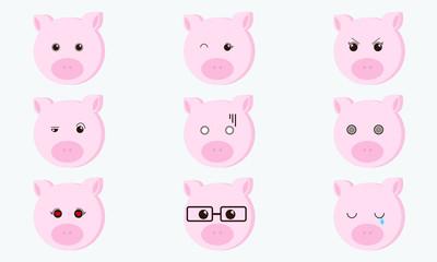 Kawaii Cute Piggy