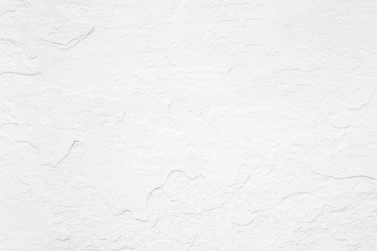 background of white concrete wall texture.