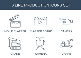 production icons