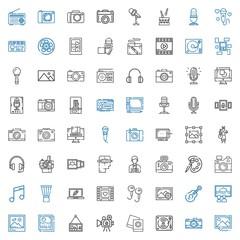 studio icons set