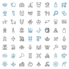 cute icons set