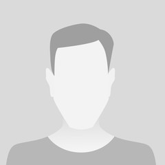 Person gray photo placeholder man