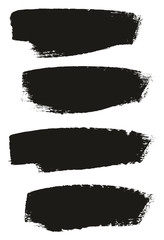 Paint Brush Medium Background High Detail Abstract Vector Background Set 152