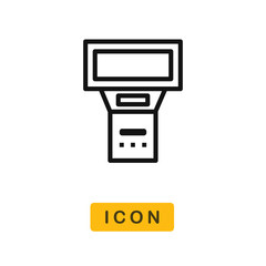Flash vector icon