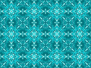Azulejo Tile Vector Seamless Pattern