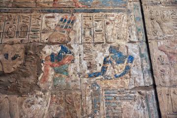 Egypt Luxor temple Pharaoh.