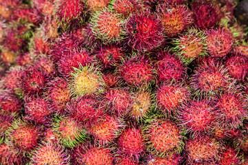 Pile of Rambutans