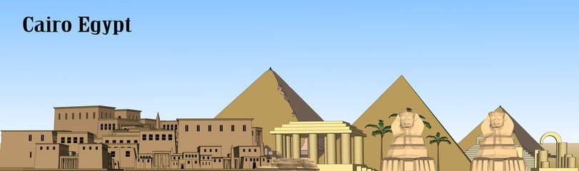 Vector Cairo, Egypt