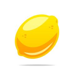 Lemon fruit vector isolated illustration