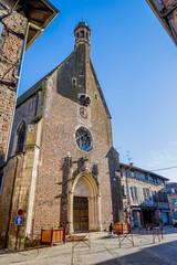 Eglise Sant-André de Chatillon sur Chalaronne dans l'Ain