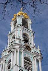 Trinity Sergius Lavra. Sergiyev Posad, Russia. Popular landmark. UNESCO World Heritage Site.
