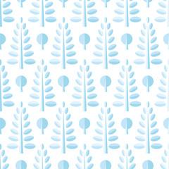 木々のパターン / シームレス
