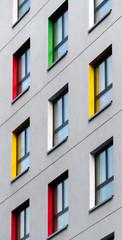 Colourful Window ledges