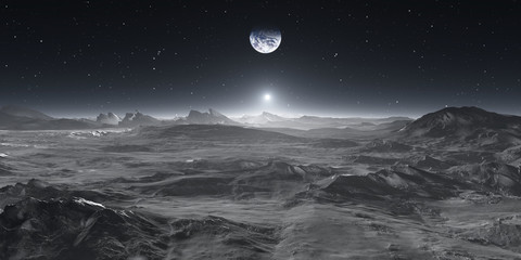 Earth from the Moon Wall mural