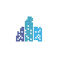 Building logo design vector template