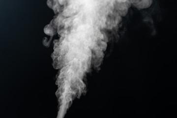 Vapor from humidifier