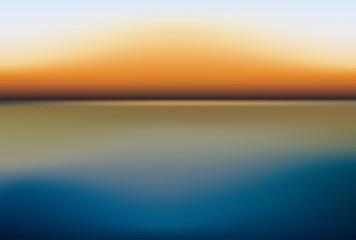 river lanscape sunset
