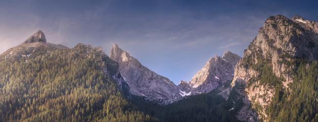 Jenner mountain near Konigssee lake, Berchtesgaden Germany