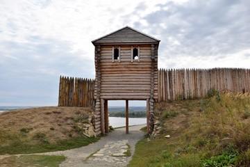 Wooden fortress City Elabuga. Tatarstan.