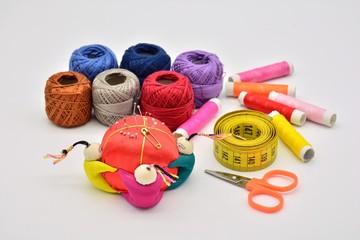materiales empleados para la costura