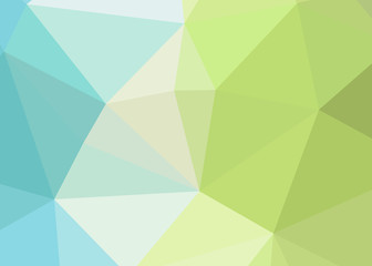 Abstract triangle polygonal illustration, which consist of triangles. Geometric background in Origami style with gradient. Triangular design for your business