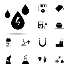 Energy Energyicon. Energy icons universal set for web and mobile