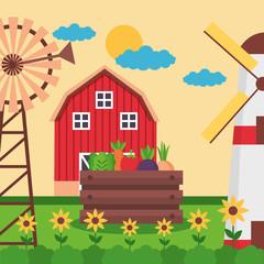 farm fresh cartoon
