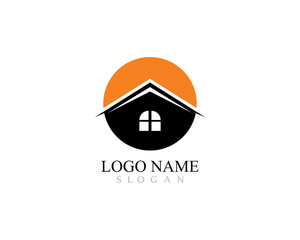 Real Estate , Property and Construction Logo design for business corporate sign.vector logo