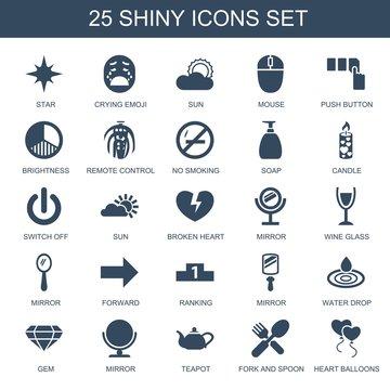25 shiny icons