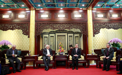 Iranian Foreign Minister Mohammad Javad Zarif meets Chinese counterpart Wang Yi