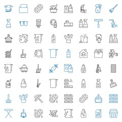 cleaner icons set