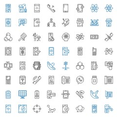 cell icons set