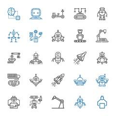 future icons set