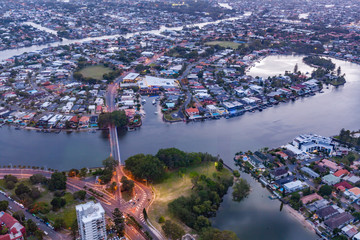 Luxury living on the Gold Coast on Nerang River