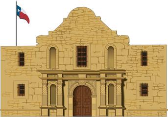 Alamo Vector Illustration