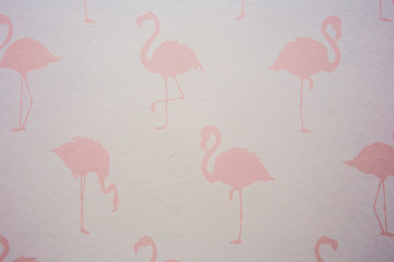Modern Flamingo lovers background pink texture design