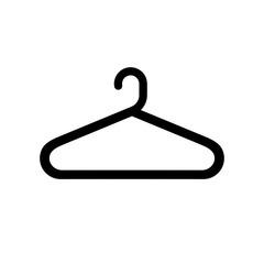 Fototapeta wieszak na ubrania ikona obraz
