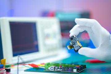Repair electronics device