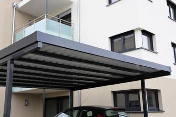 Fototapeta High-quality aluminium carport obraz