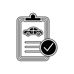 car technical document icon. Element of Cars service and repair parts for mobile concept and web apps icon. Glyph, flat line icon for website design and development, app