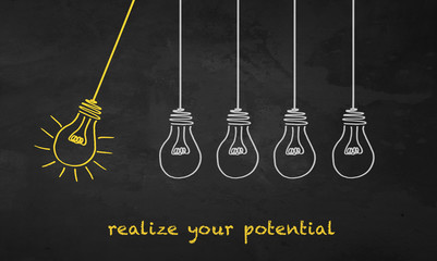 Light Bulbs - Realize Your Potential