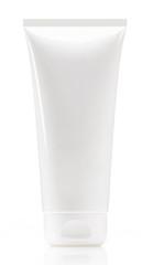 White tube isolated on white