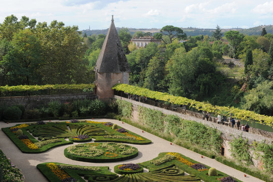 Jardins Musée Toulouse Lautrec Albi
