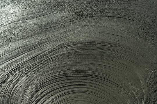Wave mud texture.