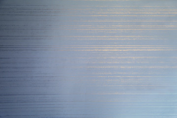 Striped background - blue and gold. Paper and cardboard